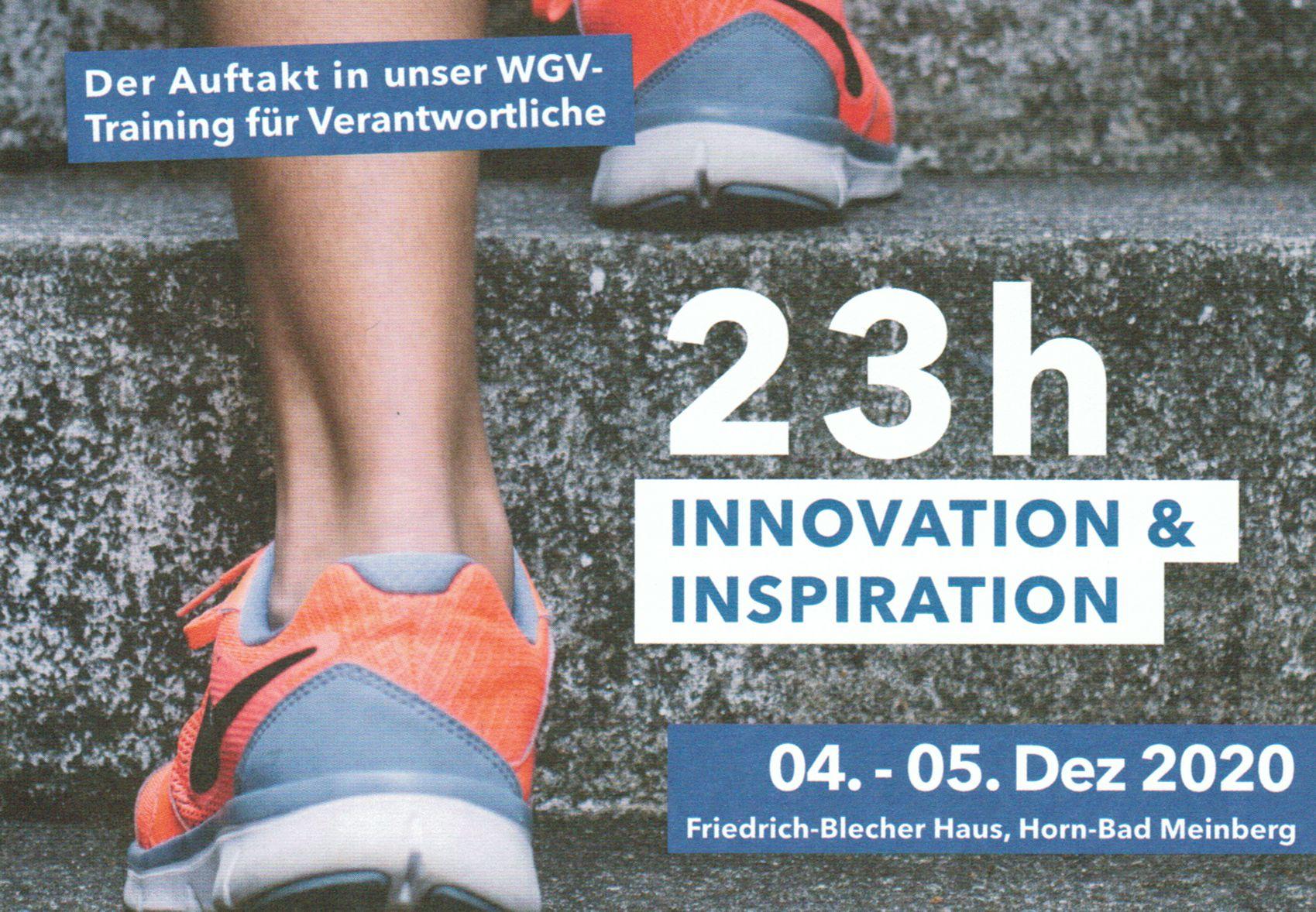 23 h Innovation & Inspiration